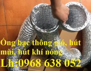 Cung cấp Ống gió vải, Ống gió nhôm dẫn gió, hút mùi, hút bụi, thông khói giá tốt tại Hà Nội, HCM