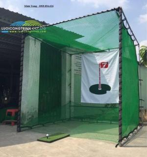 Khung Lều Tập Golf Tại Nhà Mùa Dịch