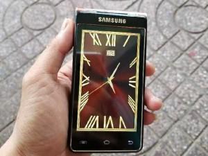 Samsung Nắp gập 2 Màn hình W2013 2 SIM