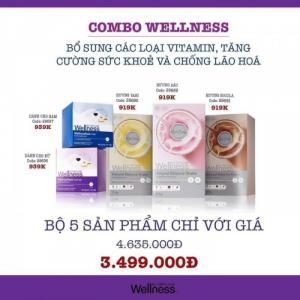 COMBO WELLNESS - BỔ SUNG CÁC LOẠI VITAMIN, TĂNG CƯỜNG SỨC KHỎE VÀ CHỐNG LÃO HÓA