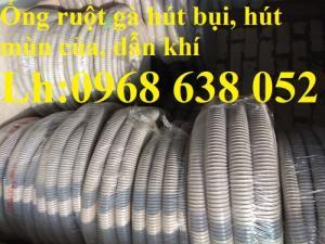 Kho hàng ống hút bụi gân nhựa, Ống thông gió bán buôn bán lẻ giá tốt tại Hà Nội, HCM