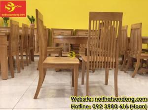 2020-04-01 10:15:22  6  Bàn ăn gỗ sồi oval 6 ghế giá rẻ 12,900,000