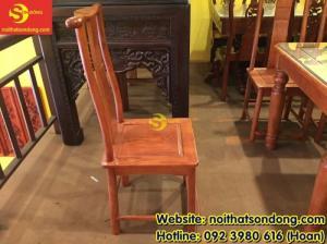 2020-04-01 10:32:50  8  Bộ bàn ăn gỗ tự nhiên cao cấp 8 ghế chữ thọ bàn vuông 12,800,000