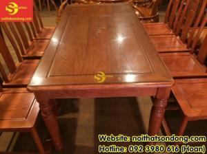 2020-04-01 10:32:50  5  Bộ bàn ăn gỗ tự nhiên cao cấp 8 ghế chữ thọ bàn vuông 12,800,000