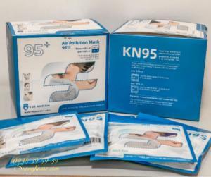 Khẩu Trang N95 Hàng chuẩn xuất khẩu có FDA để xuất Mỹ