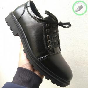 Giày da nam đế cao su đúc -xưởng giày da nam Quang Minh