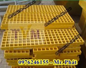 2020-04-01 11:25:42  3  Chuyên bán tấm sàn lót kháng hóa chất frp grating giá sỉ 890,000