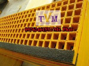2020-04-01 11:25:42  7  Chuyên bán tấm sàn lót kháng hóa chất frp grating giá sỉ 890,000