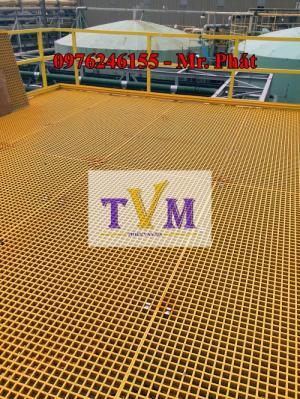 2020-04-01 11:25:42  16  Chuyên bán tấm sàn lót kháng hóa chất frp grating giá sỉ 890,000