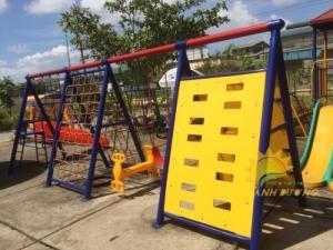 2020-04-01 15:02:13  9  Chuyên cung cấp thang leo vận động dành cho trẻ em mẫu giáo, mầm non 4,500,000