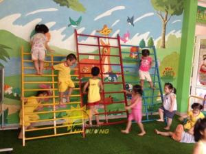 2020-04-01 15:02:13  8  Chuyên cung cấp thang leo vận động dành cho trẻ em mẫu giáo, mầm non 4,500,000