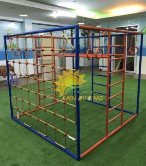 2020-04-01 15:02:13  17  Chuyên cung cấp thang leo vận động dành cho trẻ em mẫu giáo, mầm non 4,500,000