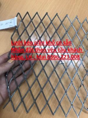 2020-04-02 10:03:30  5  Bảng báo giá lưới nhôm dập giãn dây 0.4 mắt 3 *6.5 tại Hà Nội 200,000