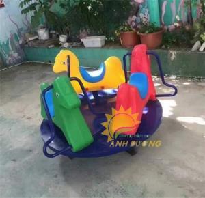 Chuyên cung cấp trò chơi đu quay trẻ em cho trường mầm non giá rẻ, chất lượng cao