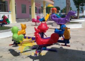 2020-04-02 13:50:20  11  Chuyên cung cấp trò chơi đu quay trẻ em cho trường mầm non giá rẻ, chất lượng cao 7,500,000