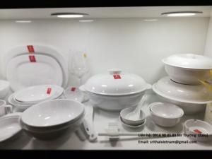 2020-04-02 13:55:41  3  Bát đĩa Melamine Srithai - Nét tinh tế trên bàn ăn 19,000