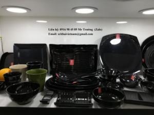 2020-04-02 13:55:41  7  Bát đĩa Melamine Srithai - Nét tinh tế trên bàn ăn 19,000