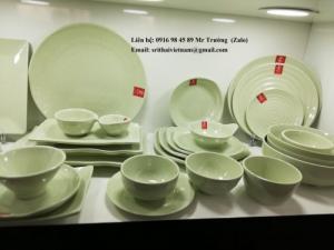2020-04-02 13:55:41  11  Bát đĩa Melamine Srithai - Nét tinh tế trên bàn ăn 19,000