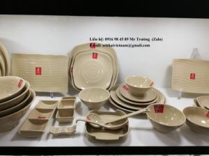 2020-04-02 13:55:41 Bát đĩa Melamine Srithai - Nét tinh tế trên bàn ăn 19,000