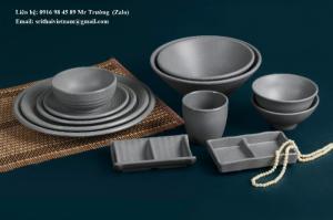 2020-04-02 13:55:41  9  Bát đĩa Melamine Srithai - Nét tinh tế trên bàn ăn 19,000