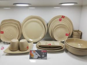 2020-04-02 13:55:41  14  Bát đĩa Melamine Srithai - Nét tinh tế trên bàn ăn 19,000