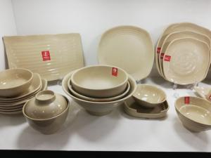 2020-04-02 13:55:41  20  Bát đĩa Melamine Srithai - Nét tinh tế trên bàn ăn 19,000
