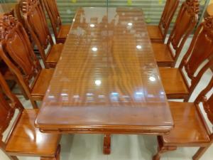 2020-04-02 14:35:27  2  Giá tốt nhất của bộ bàn ăn 8 ghế gỗ căm xe 20,500,000