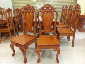 2020-04-02 14:35:27  4  Giá tốt nhất của bộ bàn ăn 8 ghế gỗ căm xe 20,500,000