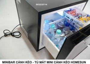 Tủ mát cánh kéo, Minibar Cánh Kéo, Tủ Lạnh Mini Cánh Kéo