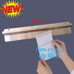 Cung cấp các loại thanh kẹp hóa đơn 40cm, 50cm, 60cm, 90cm, 1m2 - Thanh inox kẹp hóa đơn giá rẻ tại Bình Thạnh HCM