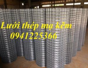 Lưới thép hàn mạ kẽm D3a30x30, D3a50x50 tại Hà Nội