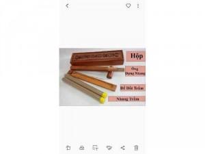 Hộp gỗ xông trầm hương không tăm