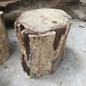 Đôn Gỗ Tràm Nguyên Khối 1 ( D40cmx40cmH)