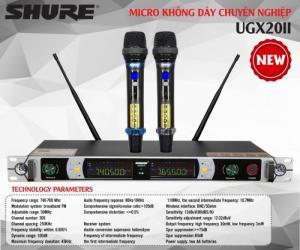 Micro Karaoke Không Dây Shure UGX20 II