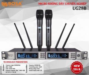 Micro Karaoke Cao Cấp 4 Sóng Bosa UG-28B