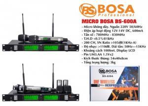 Micro Karaoke Không Dây Bosa BS-600A