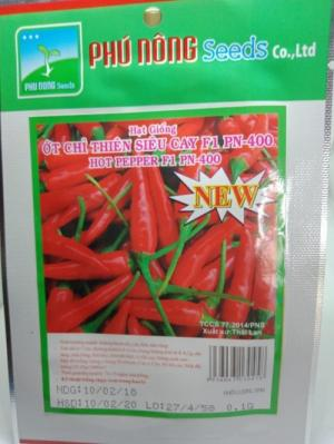 Hạt giống ớt chỉ thiên siêu cay Phú Nông
