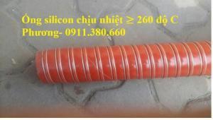 Ống Dẫn Silicon Chịu Nhiệt Độ Cao, Dẫn Khí Nóng ≥ 260 Độ