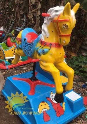 Chuyên cung cấp thú nhún điện cho trường mầm non, công viên, khu vui chơi trẻ em