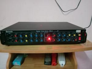 Mixer 2 line ( Echo rời) có Echo + REVER , có ngõ cắm đàn organ