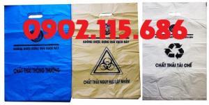 Túi đựng chất thải nguy hại, túi đựng chất thải lây nhiễm, túi đựng rác và chất thải y tế,