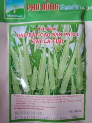 Hạt giống đậu bắp cao sản Phú Nông
