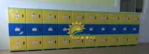 Cần bán tủ gỗ, tủ nhựa trẻ em cho trường lớp mầm non, gia đình