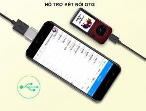 Máy nghe nhạc Lossless Bluetooth Aigo MP3-209 (Tặng thẻ nhớ 8Gb và tai nghe)