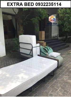 Giường phụ extra bed dùng trong khách sạn, gia đình