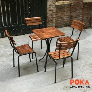 bàn ghế gổ nhà hàng  quán nhậu làm tại xưởng sản xuất ANH kHOA