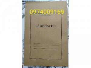 Bán bìa hồ sơ viên chức/vỏ hồ sơ