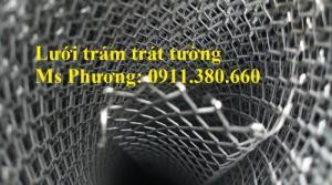 Lưới Trám Trát Tường Khổ 1Mx45M, Ô 6X12Ly, Dạng Cuộn Có Sẵn