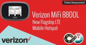 Thiết bị phát wifi 4G mifi 8800L novatel verizon like new 98%