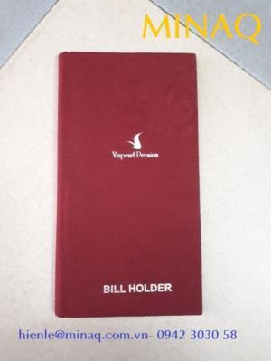 Bìa menu nhà hàng khách sạn, Bìa thông tin khách sạn